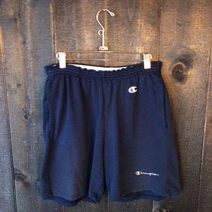 Vintage Champion Navy Dad Shorts